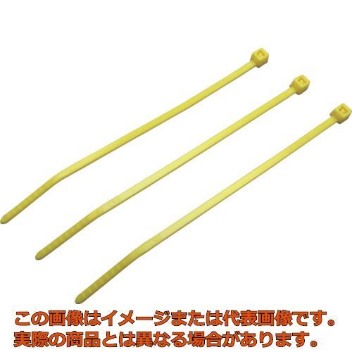 パンドウイット ナイロン結束バンド 黄 (1000本入) PLT3SM4Y