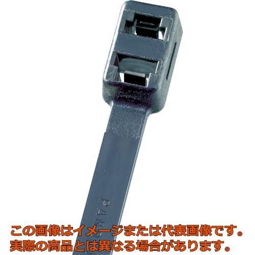 パンドウイット ダブルループ結束バンド 耐熱性黒 (250本入) PLB4HTL30