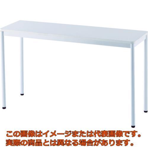【代引き不可・配送時間指定不可】 アールエフヤマカワ RFシンプルテーブル W1200×D400 ホワイト RFSPT-1240WH