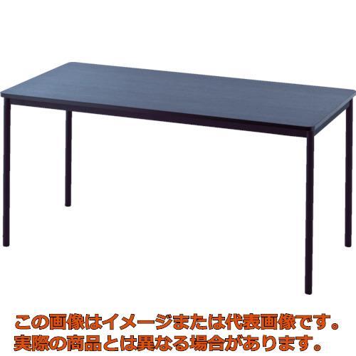 【代引き不可・配送時間指定不可】 アールエフヤマカワ RFシンプルテーブル W1400×D700 ダーク RFSPT-1470DB