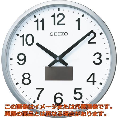SEIKO ハイブリッドソーラー電波掛時計 SF242S