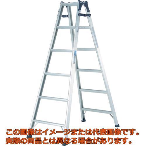 【代引き不可・配送時間指定不可】アルインコ  幅広踏ざん(55mm)はしご兼用脚立PRS-W PRS150WA