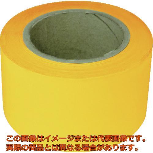 新富士 業務用超強力ラインテープ 黄(幅70MM×長さ20M) RM707