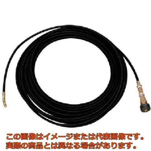 アサダ 1/4洗管ホース 8/60・8.5/60用 20m Qカプラ R10608