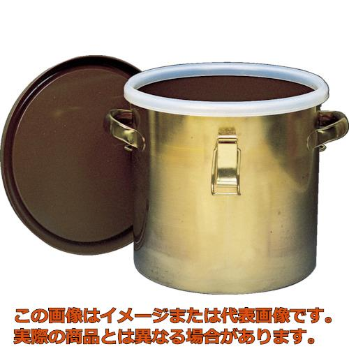 フロンケミカル フッ素樹脂コーティング密閉タンク(金具付) 膜厚約50μ 15L NR0378003