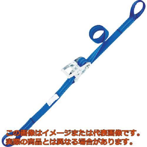 シライ ベルタイト ラチェットバックル 両端アイ形 RE50L6