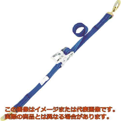 シライ ベルタイト ラチェットバックル 端末金具付き形 スナップフックツイスト付 RK50L6SHT500