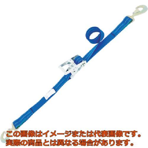 シライ ベルタイト ラチェットバックル 端末金具付き形 スナップフック付 RK355SHF200