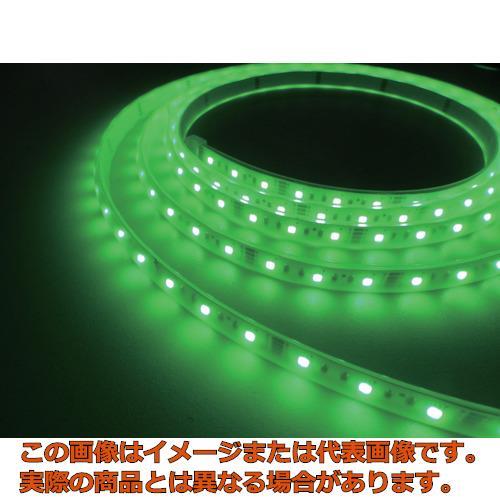 トライト LEDテープライト 16.6mmP  緑色  3M巻 TLVDG316.6P