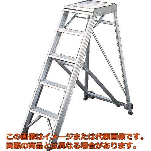 【代引き不可・配送日時指定不可】 TRUSCO 折りたたみ式作業用踏み台 高さ1.50m TDAD150