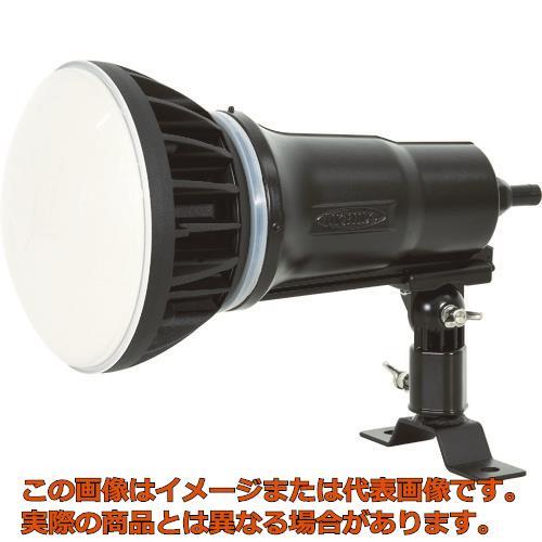 日動 LEDエコビック投光器50W 常設用 昼白色 電線種VCT1.5m 本体黒 TOLE50JBK50K