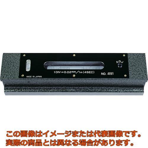 TRUSCO 平形精密水準器 B級 寸法200 感度0.02 TFLB2002