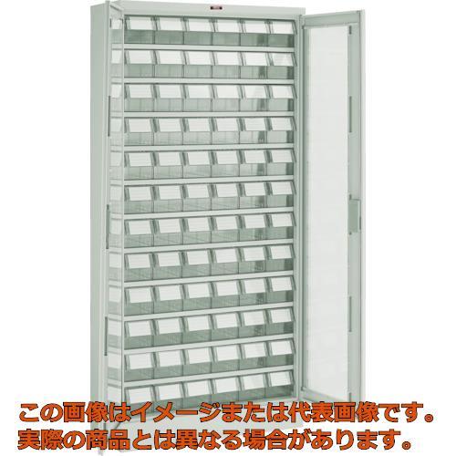 【史上最も激安】 TRUSCO バンラックケース T611MN72S M型 TM 両開き扉 透明引出小X72個 透明 T611MN72S TM, GiMOの帽子屋:471859e9 --- unifiedlegend.com