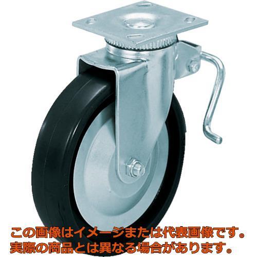 スガツネ工業 重量用キャスター径127自在ブレーキ付D(200-133-470) SUG31405BPD