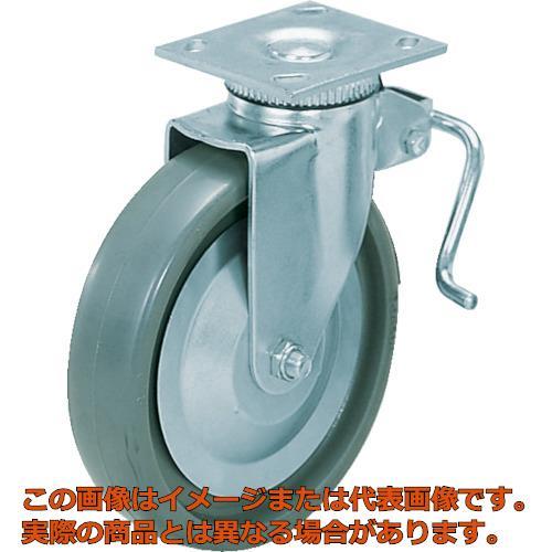 スガツネ工業 重量用キャスター径152自在ブレーキ付SE(200-133-383 SUG31406BPSE