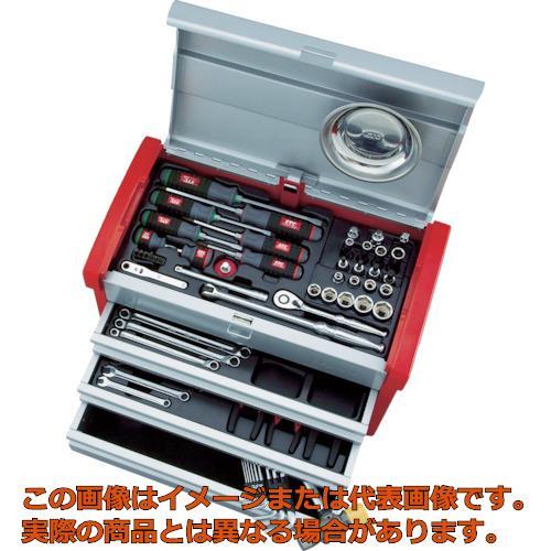 業務用 オレンジブック掲載商品 直営ストア KTC チェストケース 9.5sq.工具セット 早割クーポン SK3650E