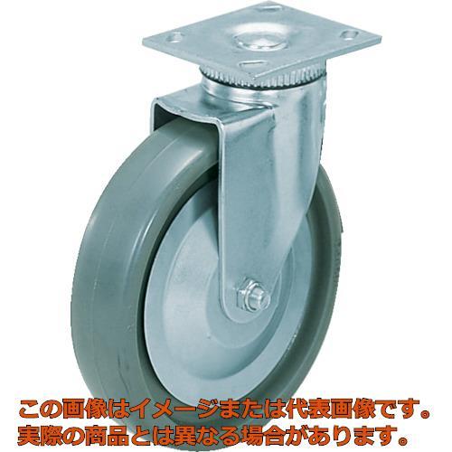 スガツネ工業 重量用キャスター径203自在SE(200ー012ー452) SUGT408PSE