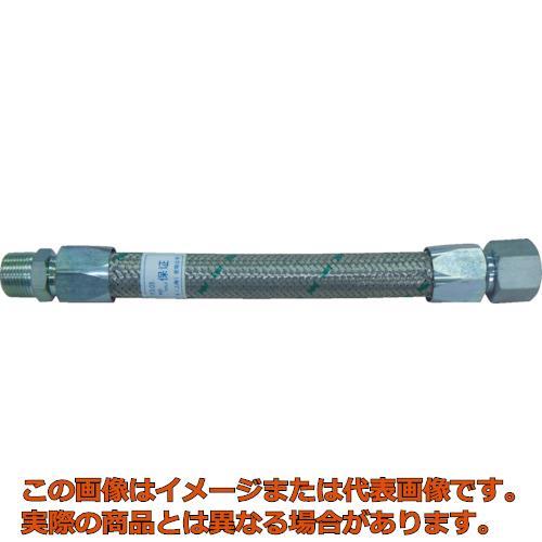 トーフレ メタルタッチ無溶接型フレキ 継手鉄 オスXオス 25AX1000L TF16251000MM