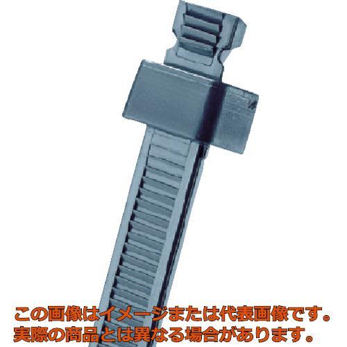 パンドウイット スタストラップ ナイロン結束バンド 耐候性黒 (1000本入) SST1.5SM0