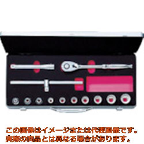 KTC 12.7sq.ソケットレンチセット[13点] TB410W