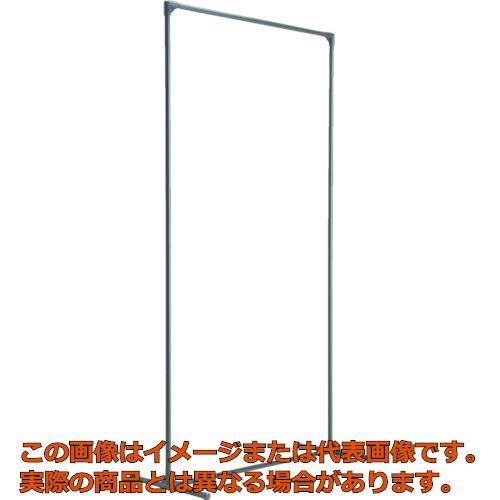 【代引き不可・配送時間指定不可】 TRUSCO 溶接フェンス用フレーム 1515型 単体 固定足タイプ TF-1515K