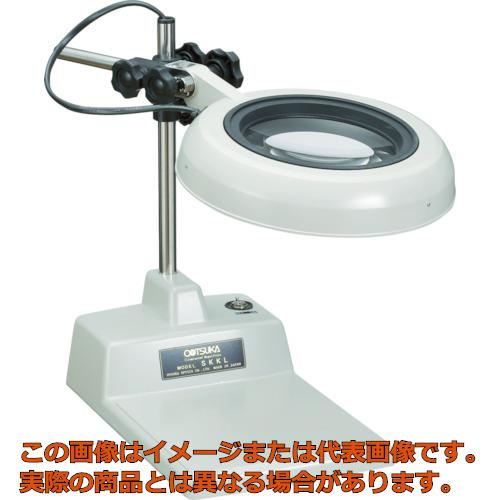 LED照明拡大鏡 SKKL-B型 2倍 光学 SKKLBX2 オーツカ