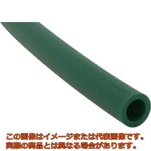 チヨダ TEタッチチューブ 16mm/100m 緑 TE16100G