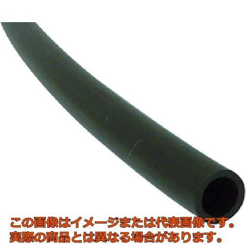 チヨダ ナイロンチューブ10mm/100m 黒 TN10X7.5100BK