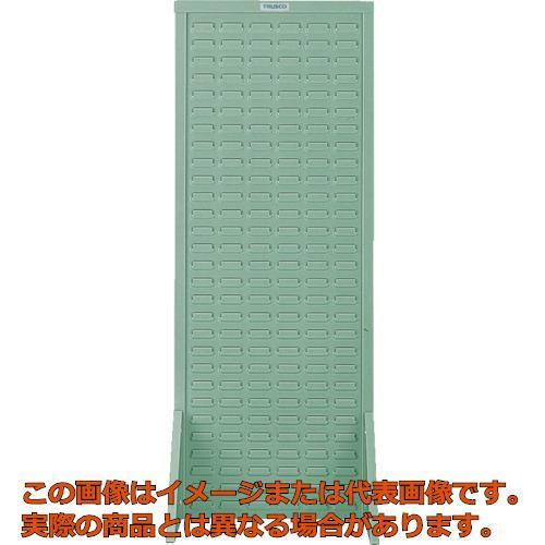 業務用 オレンジブック2018掲載 代引き不可 配送時間指定不可 TRUSCO コンテナラックパネル 490X320XH1240 W490タイプ グリ-ン T-1200S ギフト GN 安全
