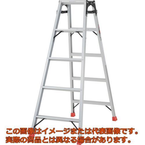 【代引き不可・配送時間指定不可】TRUSCO はしご兼用脚立 アルミ合金製・脚カバー付 高さ1.40m THK150