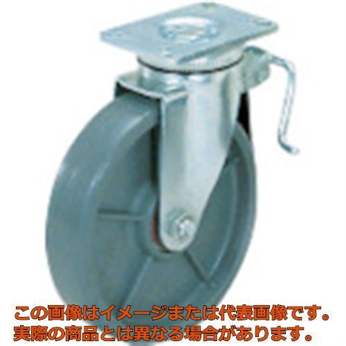 スガツネ工業 重量用キャスター径254自在ブレーキ付SE(200ー139ー456 SUG8810BPSE