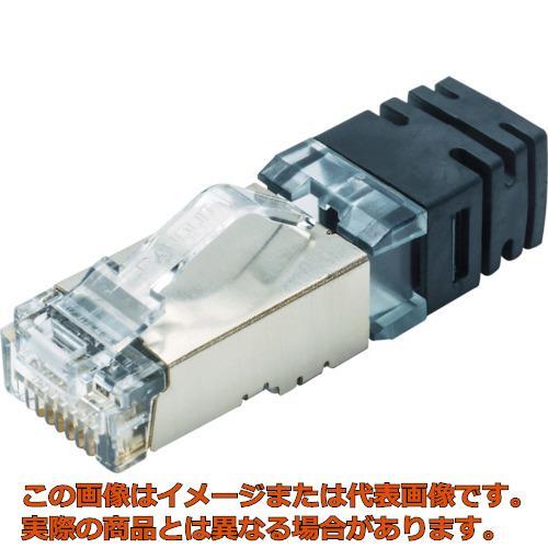 パンドウイット シールド付きモジュラープラグ LANコネクタ カテゴリ6A 100個入り SPS6X88-C SPS6X88C