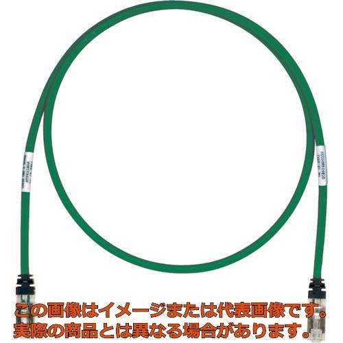 パンドウイット CAT6A/CAT6 シールドパッチコード 40m 緑 STP6X40MGR