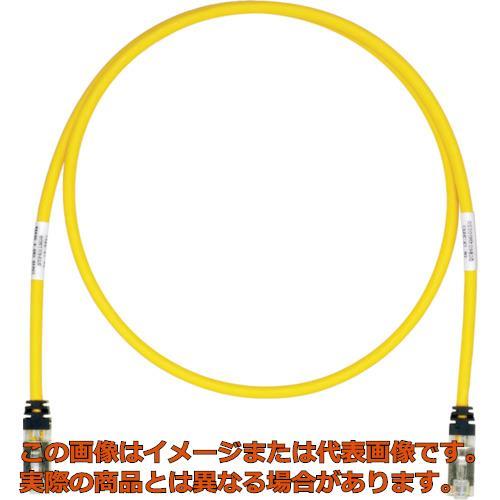 パンドウイット CAT6A/CAT6 シールドパッチコード 40m 黄 STP6X40MYL