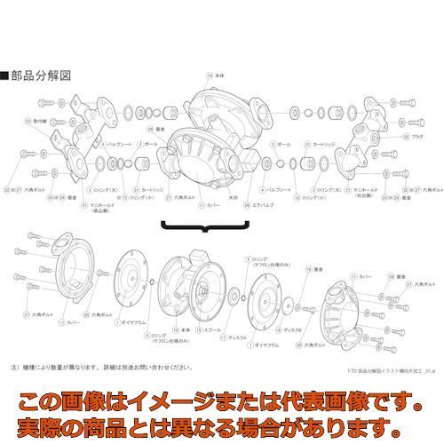 TAIYO TD2-25AT用ダイヤフラム TD225AT001