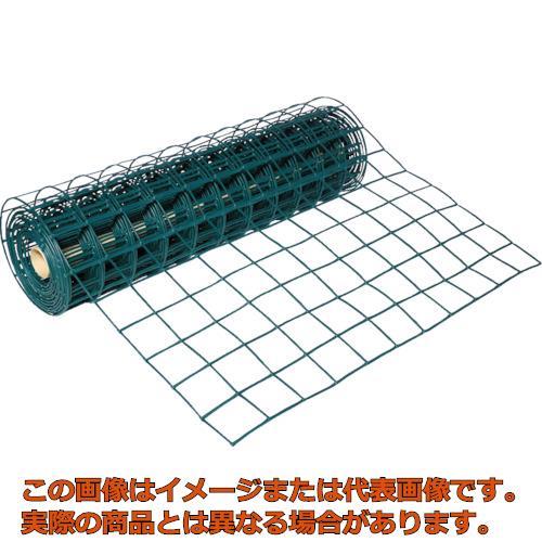 TRUSCO 多目的樹脂ネット グリーン1mX10m 目合93mmX93mm T-H11PB