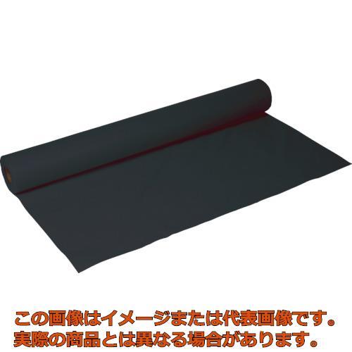 TRUSCO ソフト不織布 920mmX25m巻 黒 TA3000BK