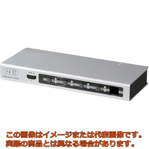 ATEN ビデオ切替器 HDMI / 4入力 / 1出力 VS481A