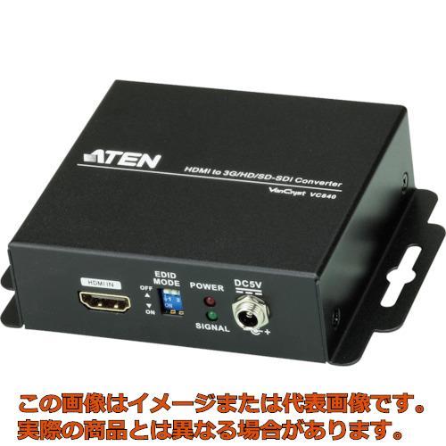 ATEN ビデオ変換器 HDMI to 3G/HD/SD-SDIタイプ VC840