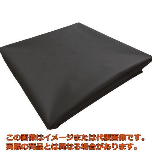 TRUSCO ターポリンシート ブラック 3600X5400 0.35mm厚 TPS3654BK
