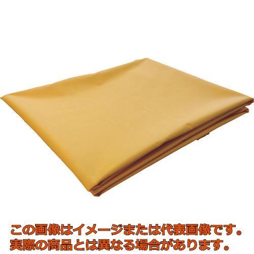 TRUSCO ターポリンシート オレンジ 3600X5400 0.35mm厚 TPS3654OR