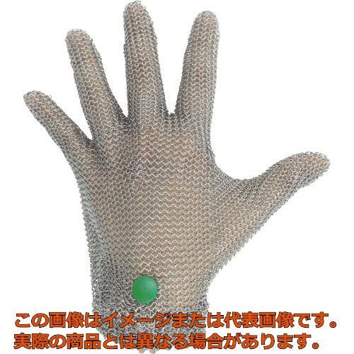 ミドリ安全 ステンレス製 耐切創クサリ手袋 5本指 WILCO-050 SSサイズ 1枚 WILCO050SS