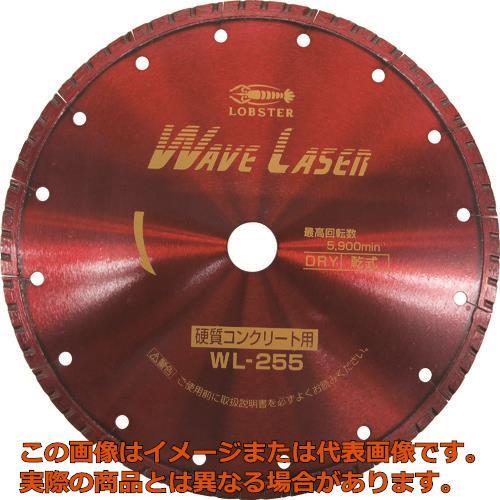 エビ ダイヤモンドホイール ウェブレーザー(乾式) 260mm穴径20mm WL25520