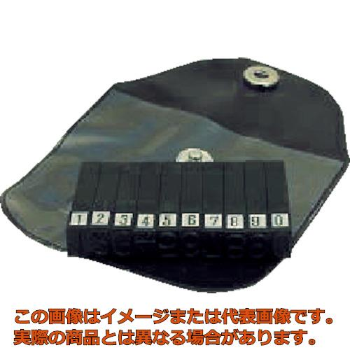 浦谷 ハイス精密組合刻印 数字セット6.0mm UC60S