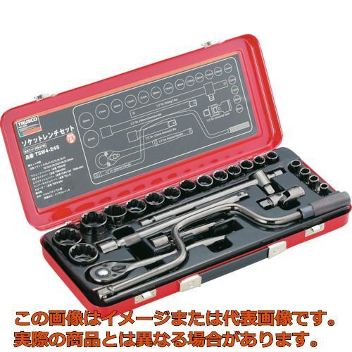 TRUSCO ソケットレンチセット 差込角12.7mm 24S TSW424S