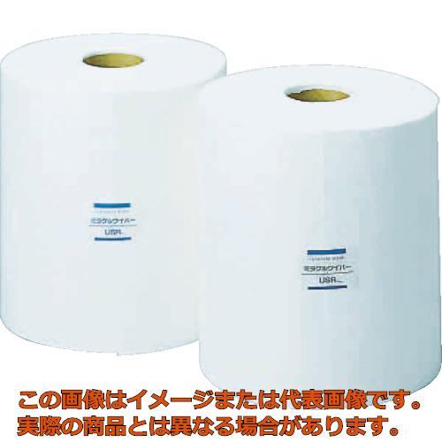 橋本 ミラクルワイパー ロール 中厚手 280×400mm 1Cs(箱)=2巻入 USR60