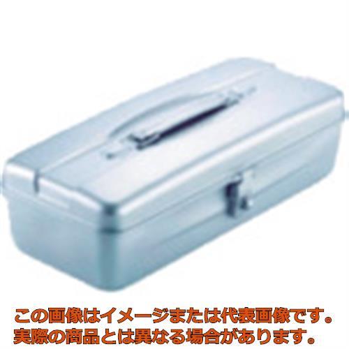 業務用 商い オレンジブック掲載商品 TRUSCO 山型ツールボックス 330X140X96 TY320SV シルバー 買取