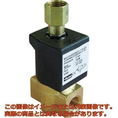 クロダ 流体制御用直動形3ポートバルブ WV131S222LVI1S8P
