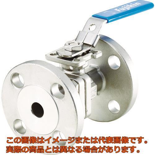 フジキン ステンレス鋼製1MPaフランジ式2ピースボール弁20A(3/4) UBV21J10REALX