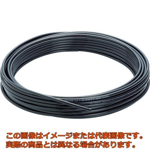 ピスコ ウレタンチューブ 黒 8X5.0 100M UB0850100B